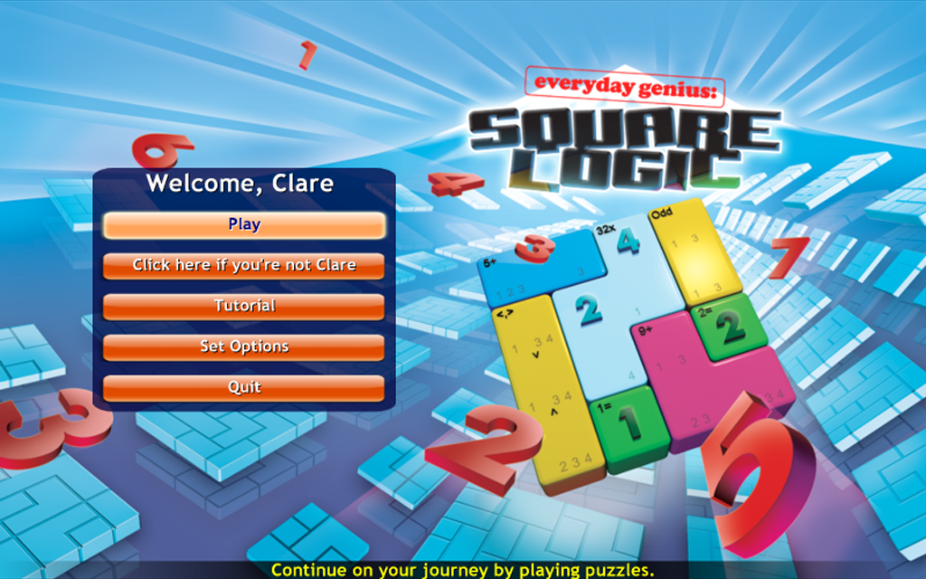 SquareLogic Game